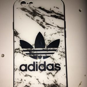 Adidas iPhone 6/6s Tempered glass phone case